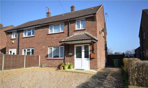 3 Bedrooms Semi Detached House for sale in Wickham Road, Camberley, Surrey