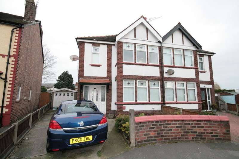 3 Bedrooms Semi Detached House for sale in Cleveleys Avenue, Southport, PR9 9SS