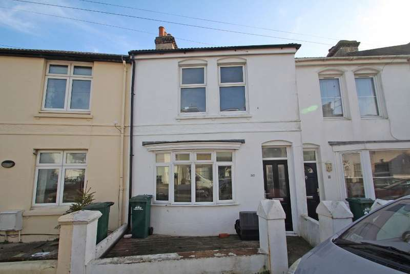 3 Bedrooms Terraced House for sale in Wolseley Road, Portslade, East Sussex, BN41 1ST