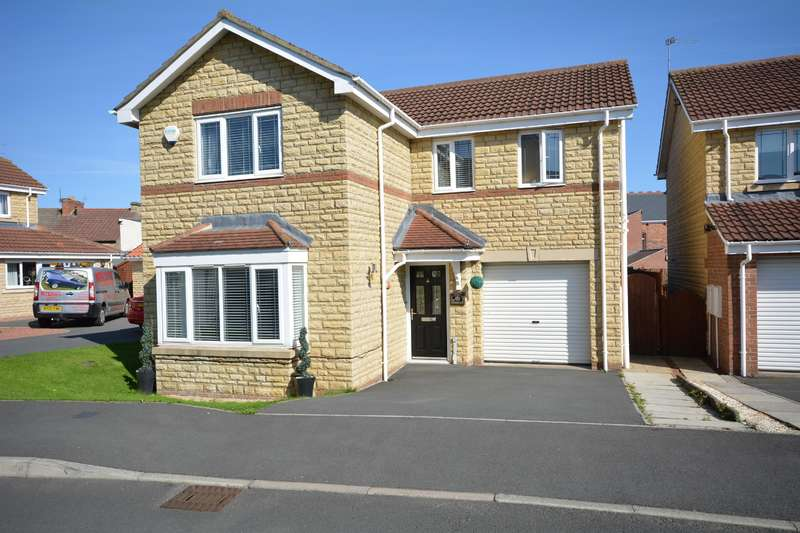 4 Bedrooms Detached House for sale in Oakfields, Hunwick, Crook, DL15 0GA