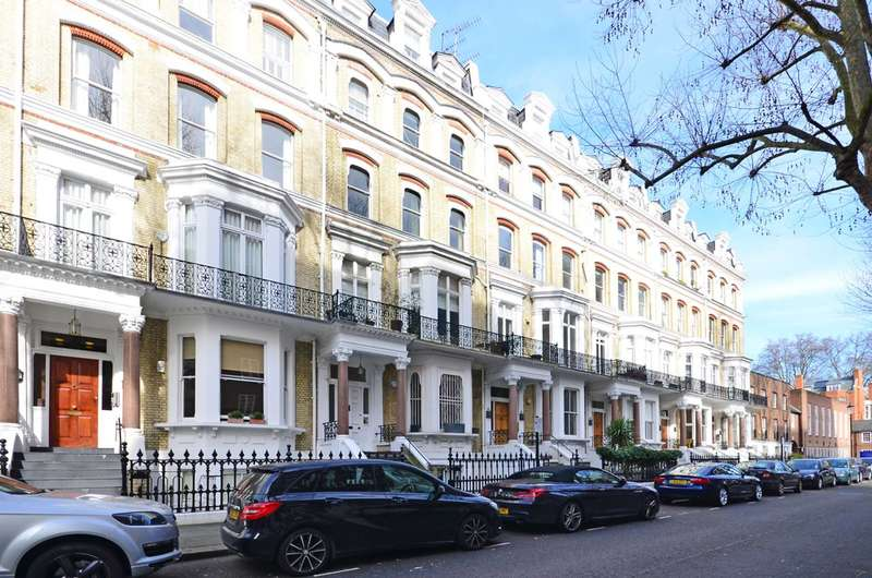 4 Bedrooms Flat for sale in Vicarage Gate, Kensington, W8