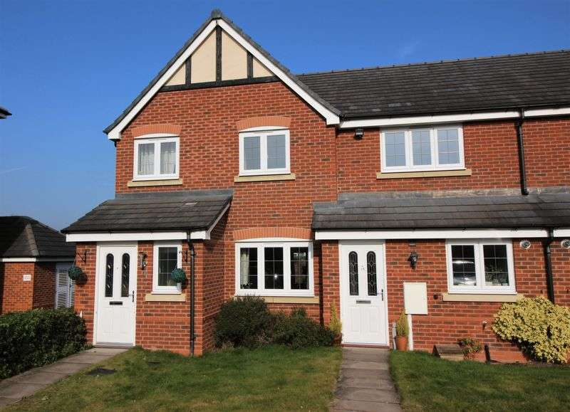 3 Bedrooms Terraced House for sale in Drake Close, Shrewsbury