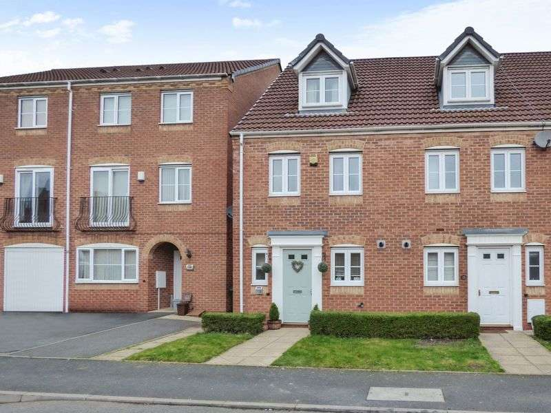 3 Bedrooms House for sale in Sannders Crescent, Tipton