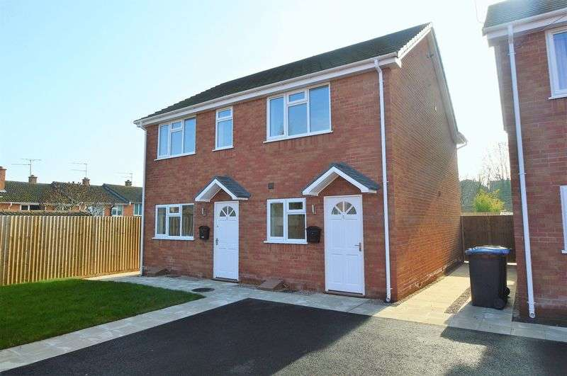 2 Bedrooms Semi Detached House for sale in Summers Mews * New Road * Studley