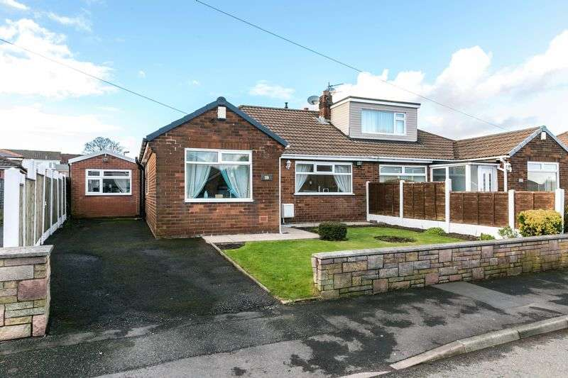 4 Bedrooms Semi Detached Bungalow for sale in Bentham Road, Standish, WN6 0NE
