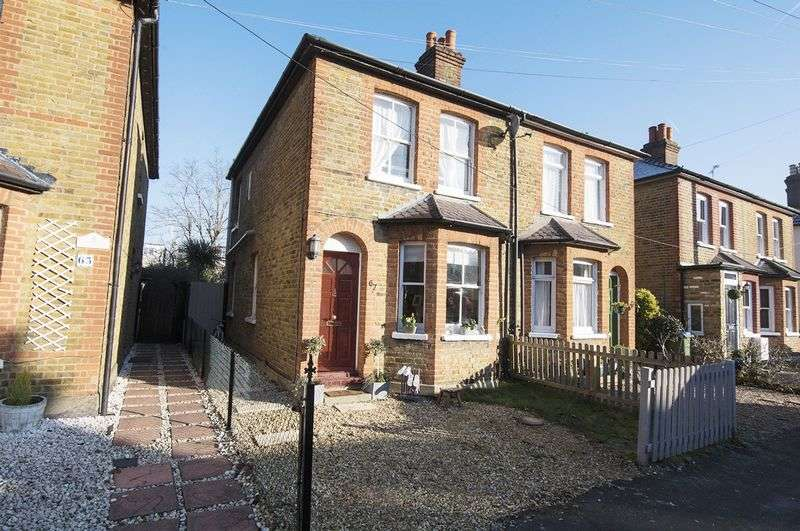 3 Bedrooms Semi Detached House for sale in Albany Road, Walton-On-Thames