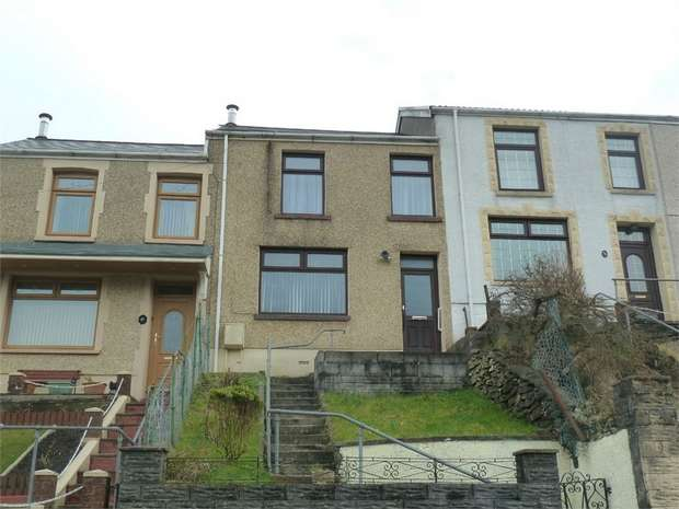 3 Bedrooms Terraced House for sale in Jersey Road, Blaengwynfi, Port Talbot, West Glamorgan