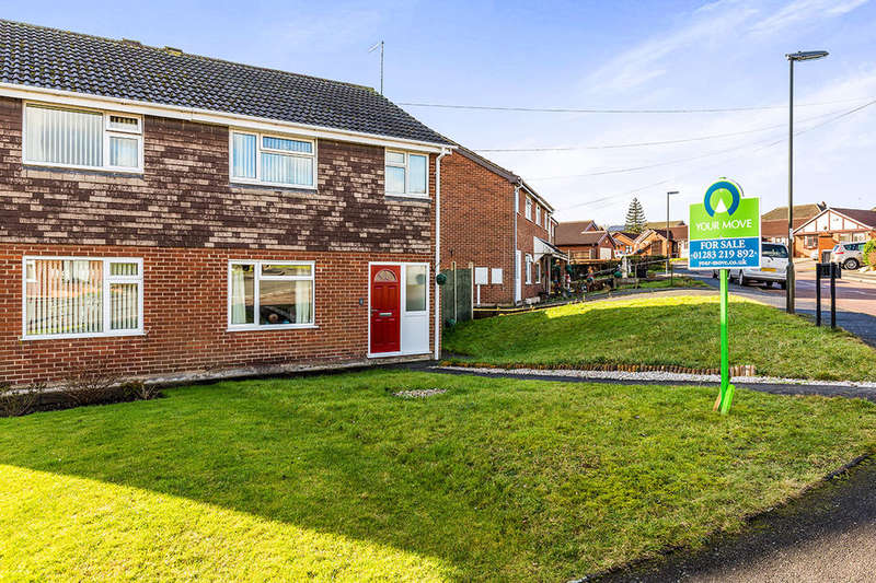 3 Bedrooms Semi Detached House for sale in Grange Road, Newhall, Swadlincote, DE11