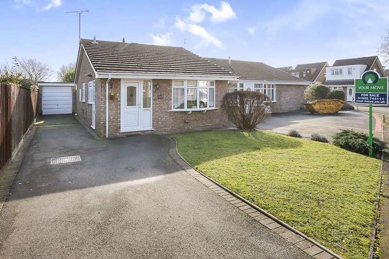 2 Bedrooms Detached Bungalow for sale in Mere Oak Road, Perton, Wolverhampton, WV6
