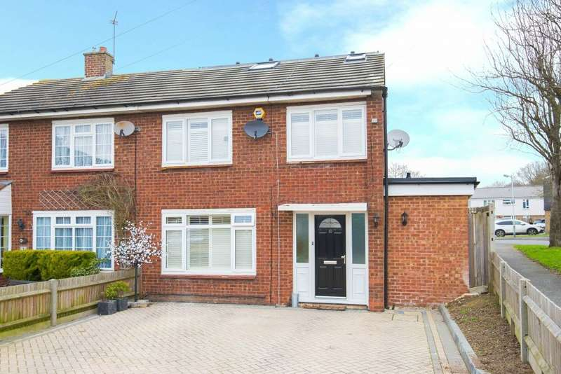 4 Bedrooms Semi Detached House for sale in Milne Way, Harefield, Middlesex
