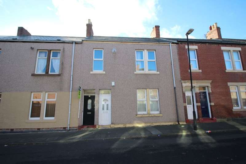 2 Bedrooms Flat for sale in Chirton West View, North Shields, NE29