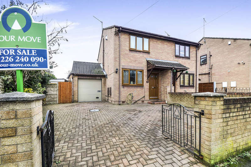 2 Bedrooms Semi Detached House for sale in Tudor Way, Worsbrough, Barnsley, S70