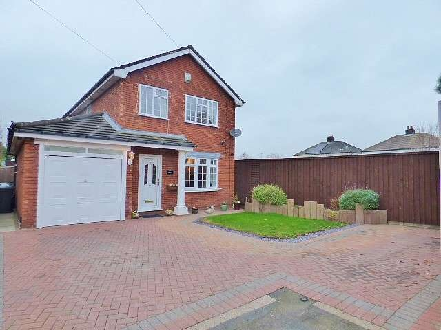 3 Bedrooms Detached House for sale in Henderson Close, Great Sankey, Warrington