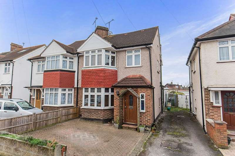 4 Bedrooms Semi Detached House for sale in Crane Way, Whitton, Twickenham, TW2