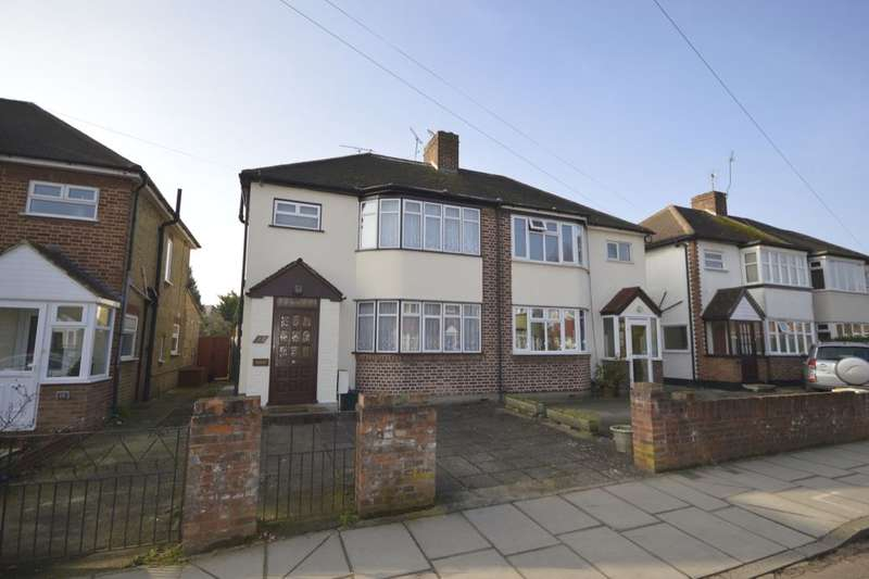 3 Bedrooms Semi Detached House for sale in St. Vincent Road, Whitton, Twickenham, TW2