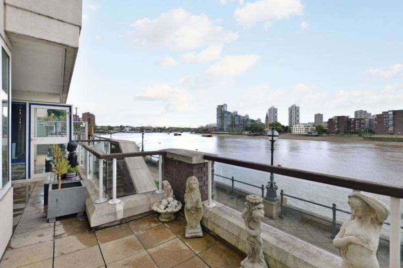 1 Bedroom Flat for sale in Thames Quay, Chelsea Harbour, Chelsea, London, SW10
