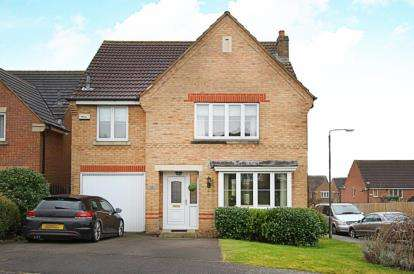 4 Bedrooms House for sale in Cottam Drive, Barlborough, Chesterfield, Derbyshire