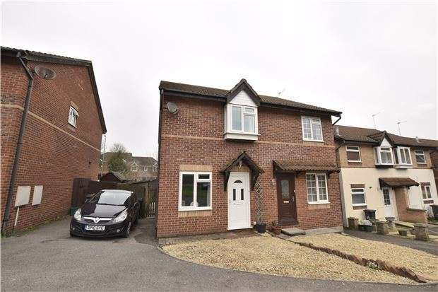 2 Bedrooms Semi Detached House for sale in Jeffery Court, BRISTOL, BS30 8GF