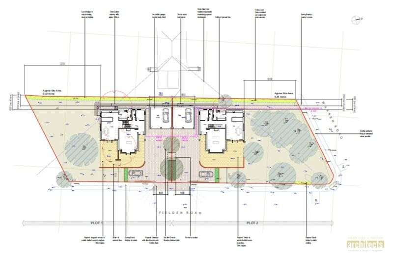 2 Bedrooms Land Commercial for sale in Fielden Road, Crowborough, East Sussex