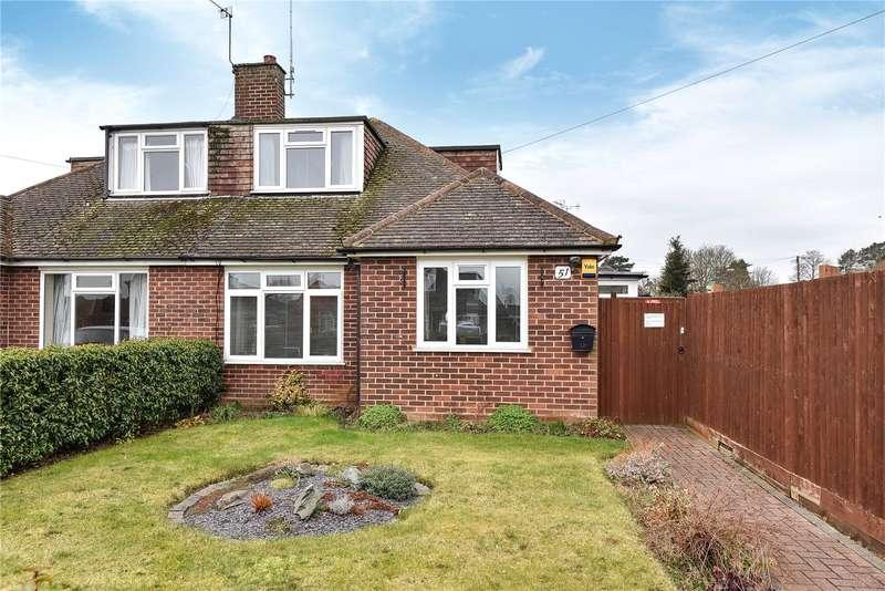 3 Bedrooms Semi Detached Bungalow for sale in Headington Road, Maidenhead, Berkshire, SL6