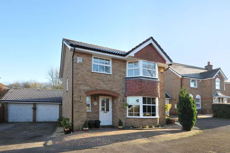 4 Bedrooms Detached House for sale in Octavian Close, Basingstoke, RG22