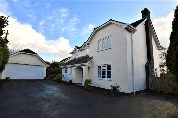 4 Bedrooms Detached House for sale in Beech Drive, Down St. Mary, Crediton, Devon