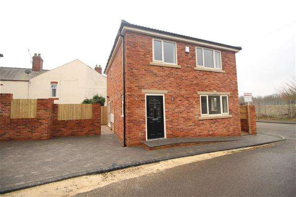3 Bedrooms Detached House for sale in Linear View, Clowne, Chesterfield, S43 4GW