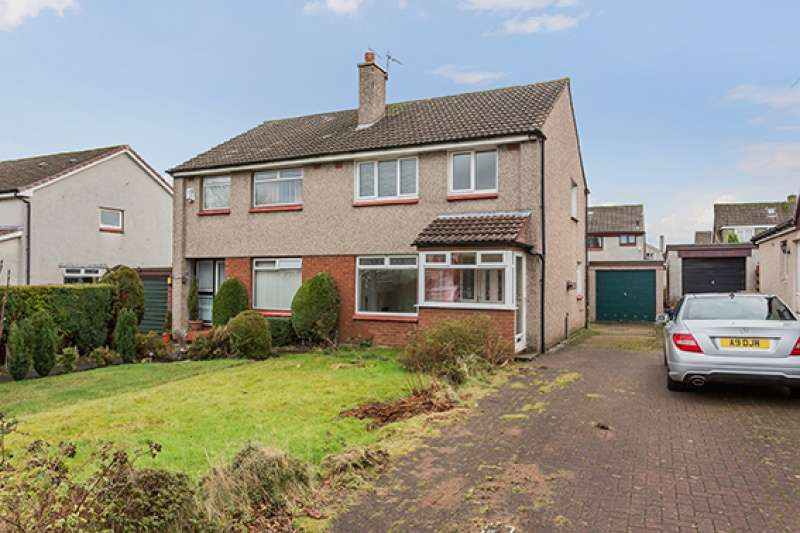 3 Bedrooms Semi Detached House for sale in Burns Avenue, Bishopton, Renfrewshire, PA7 5BN