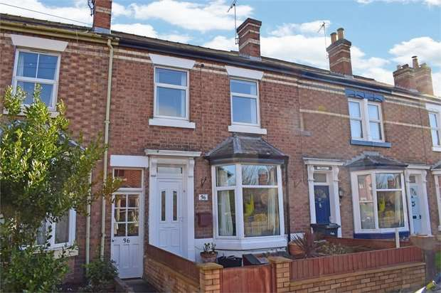 4 Bedrooms Terraced House for sale in Hotspur Street, Shrewsbury, Shropshire