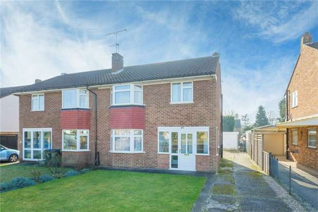 3 Bedrooms Semi Detached House for sale in 85 Pinewood Green, Iver Heath, Buckinghamshire