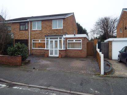3 Bedrooms Semi Detached House for sale in Whitebeam Road, Birmingham, West Midlands