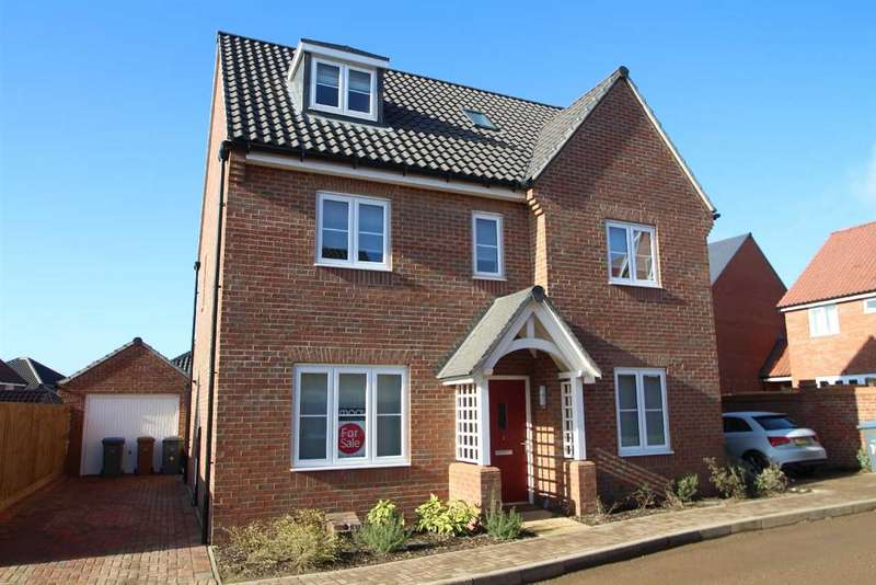 5 Bedrooms Detached House for sale in Elm Close, Martlesham, Woodbridge
