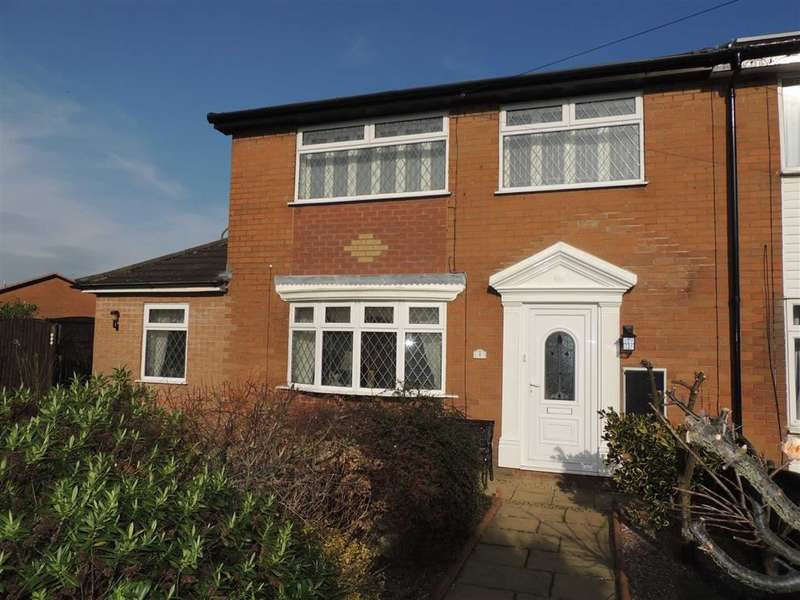 3 Bedrooms Property for sale in Hodnet Walk, Denton, Manchester