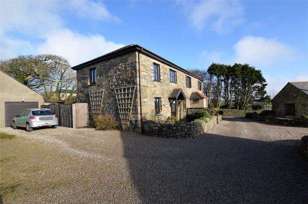 3 Bedrooms Semi Detached House for sale in Ludgvan, Penzance, Cornwall