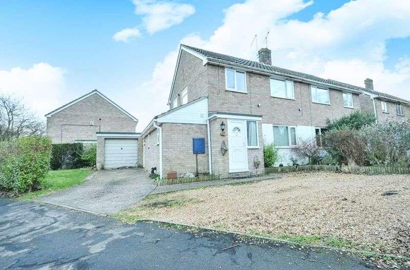 3 Bedrooms Semi Detached House for sale in Highfield Avenue, Alconbury Weston