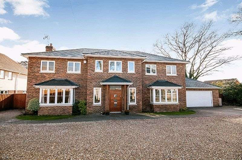 5 Bedrooms Detached House for sale in Rownhams