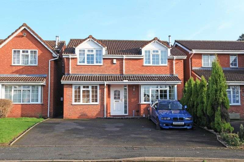 4 Bedrooms Detached House for sale in Damson Drive, The Rock, Telford