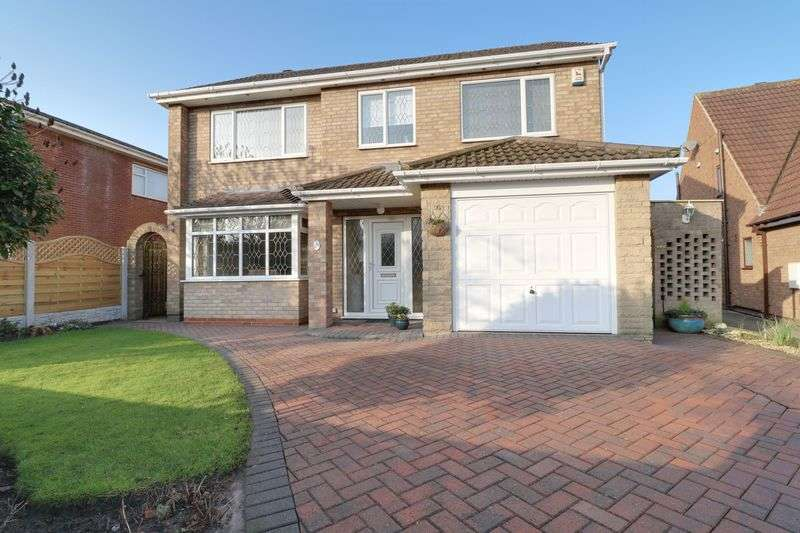 4 Bedrooms Detached House for sale in Weymouth Crescent, Scunthorpe