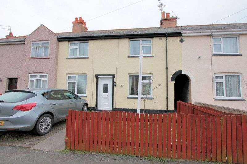 3 Bedrooms Terraced House for sale in Mona Terrace, Rhyl
