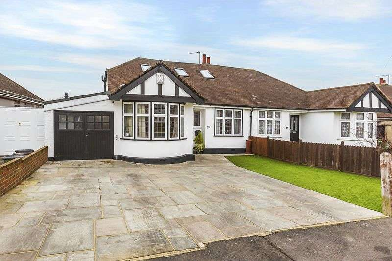 4 Bedrooms Semi Detached Bungalow for sale in Cotleigh Avenue, Bexley