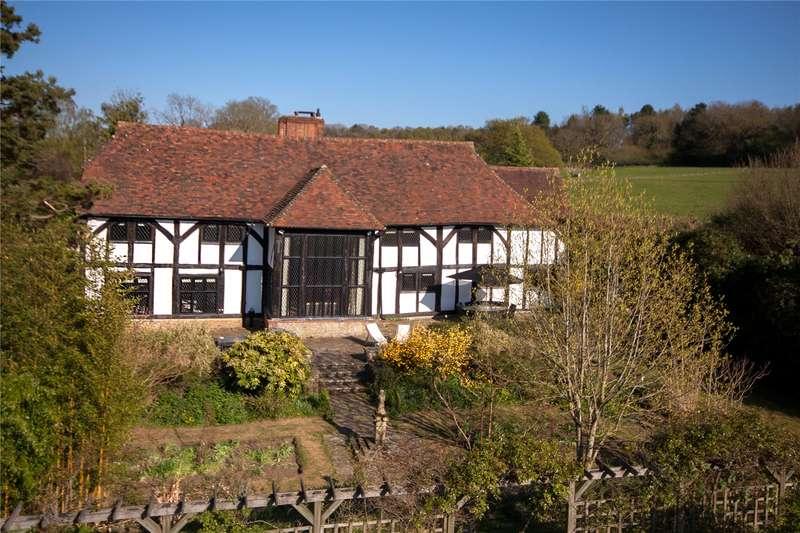6 Bedrooms Barn Conversion Character Property for sale in Old Barn Lane, Churt, Farnham, Surrey, GU10