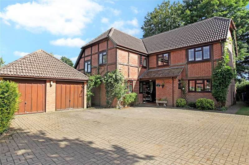 5 Bedrooms Detached House for sale in Birchanger, Busbridge, Godalming, Surrey, GU7