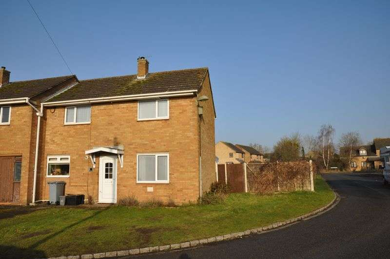 2 Bedrooms Semi Detached House for sale in Mercury Close, Bampton