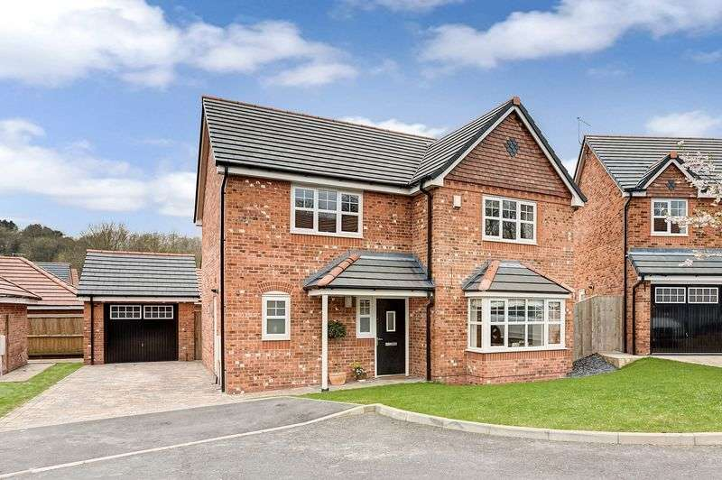 4 Bedrooms Detached House for sale in Bridestones Place , Congleton