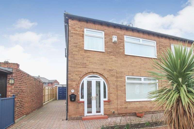 3 Bedrooms Semi Detached House for sale in Epsom Road, Redcar