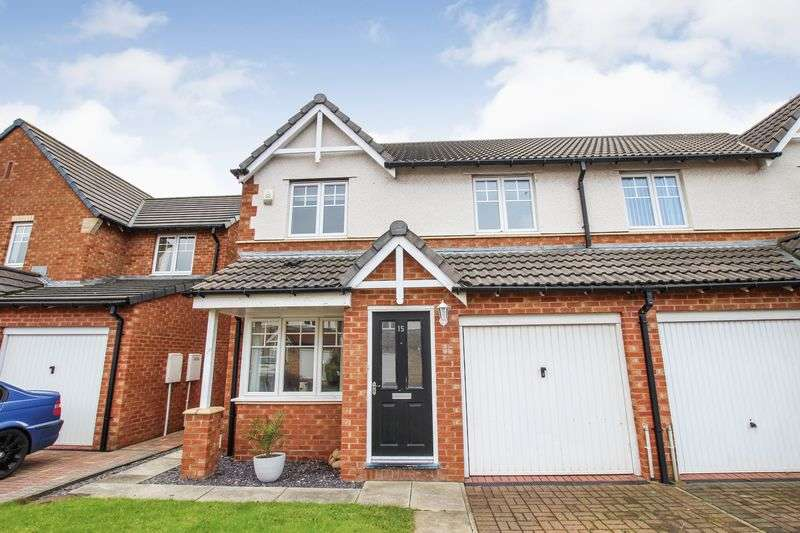 3 Bedrooms Semi Detached House for sale in Trevose Close, Redcar