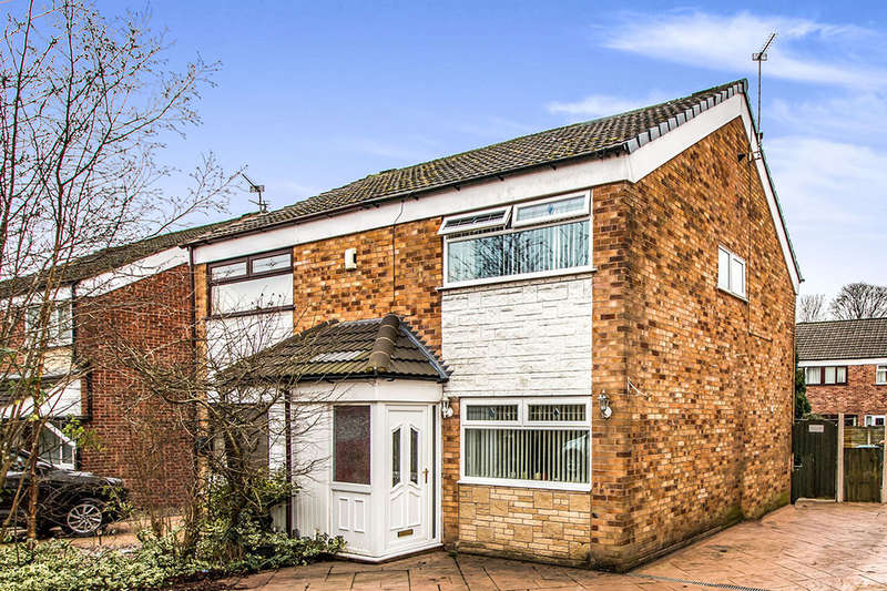 3 Bedrooms Semi Detached House for sale in Dovey Close, Astley,Tyldesley, Manchester, M29