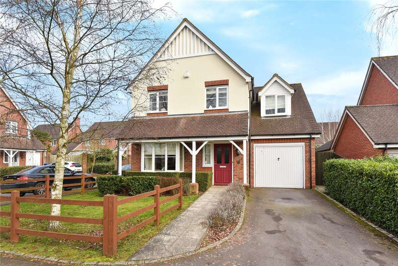 4 Bedrooms Detached House for sale in Barley Mead, Maidenhead, Berkshire, SL6
