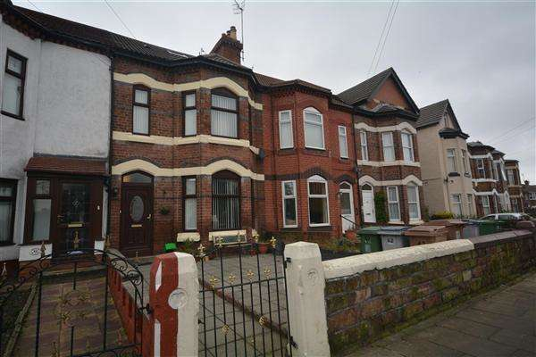 4 Bedrooms Terraced House for sale in Well Lane, Tranmere