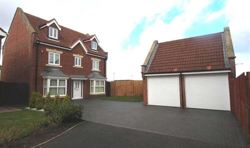 5 Bedrooms Detached House for sale in Latton Close, Southfield Gardens, Cramlington